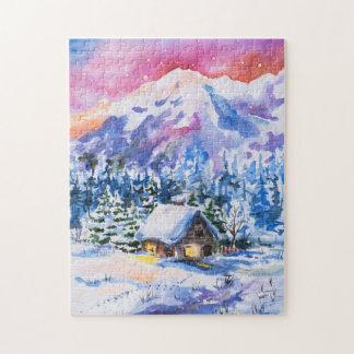 Paysage d'hiver puzzle