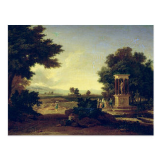Paysage idyllique carte postale