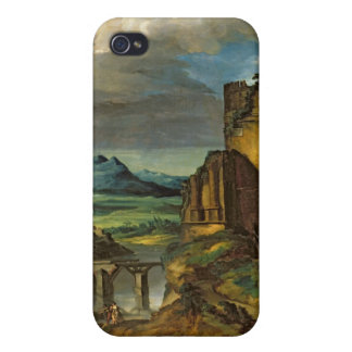 Paysage italien ou, paysage avec une tombe coques iPhone 4/4S