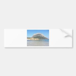 Paysage marin de la Sardaigne en été Autocollant Pour Voiture