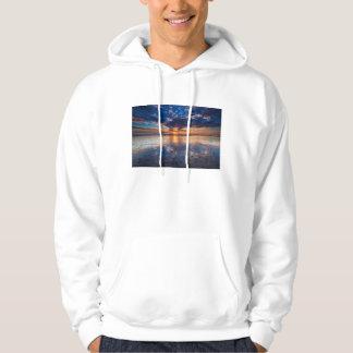 Paysage marin dramatique, coucher du soleil, CA Veste À Capuche