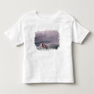 Paysage marin t-shirt pour les tous petits