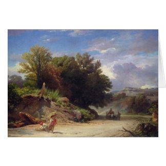 Paysage sur les périphéries de Rome, 1853 Cartes