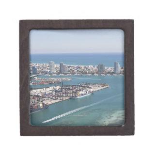 Paysage urbain 2 de Miami Coffret Cadeau De Première Qualité