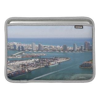Paysage urbain 2 de Miami Poches Pour Macbook Air