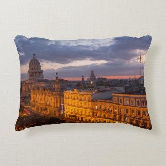 Paysage urbain au coucher du soleil, La Havane, Coussins Décoratifs
