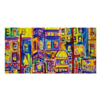 Paysage urbain Bronx par Piliero Cartes Avec Photo