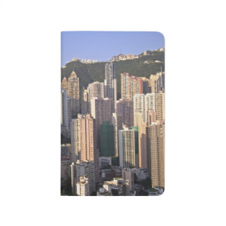 Paysage urbain de Hong Kong, Chine Carnet De Poche