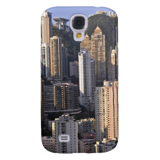 Paysage urbain de Hong Kong, Chine Coque Galaxy S4