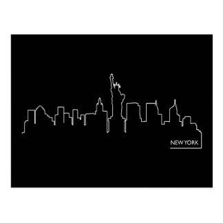 Paysage urbain de New York Carte Postale