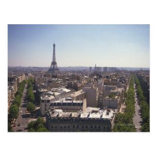 Paysage de paris cartes postales for Paris paysage