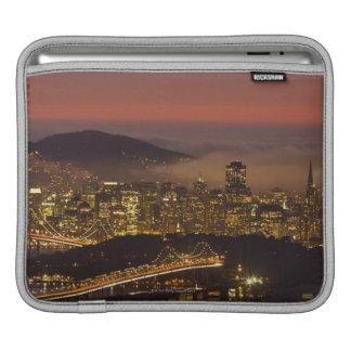 Paysage urbain de San Francisco Poches Pour iPad