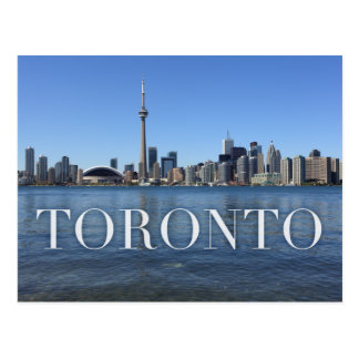 paysage urbain de Toronto Cartes Postales