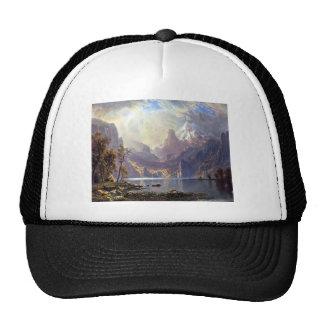 Paysage vintage, le lac Tahoe par Albert Bierstadt Casquettes De Camionneur