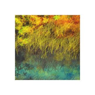 Paysage Xtreme de beauté d'automne Toiles Tendues Sur Châssis