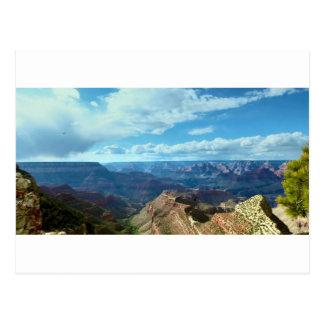 Paysages américains de gammes de montagne de carte postale