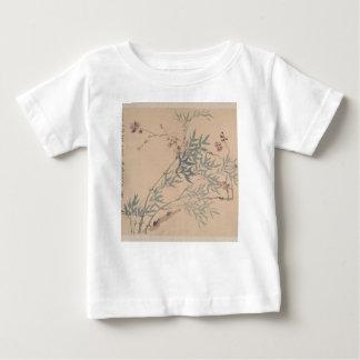 Paysages et fleurs - Chinois (dynastie de Qing) T-shirt Pour Bébé