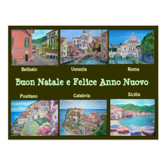 Paysages italiens - cartes postales