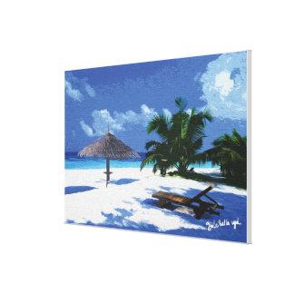 Paysages Maldives Toiles