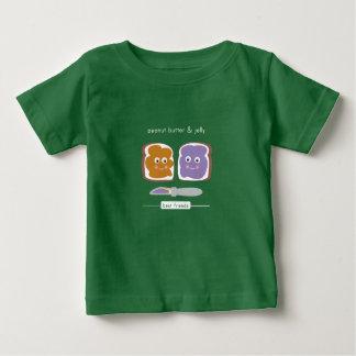 PB de meilleurs amis et J T-shirt Pour Bébé