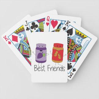 PB et couleur des meilleurs amis de J Jeu De Cartes
