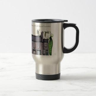 Peapods de Yorkshire d'amour grands Mug De Voyage