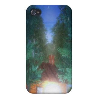 Peau d iPhone de solitude Étuis iPhone 4