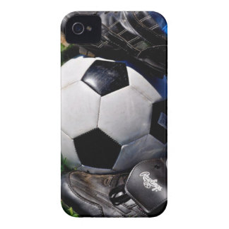 Peau d Iphone du football Étuis iPhone 4