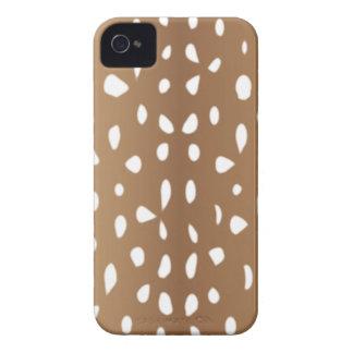 Peau de l iPhone 4 de motif de peau de cerfs commu Coques iPhone 4 Case-Mate
