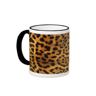 Peau de léopard mug ringer