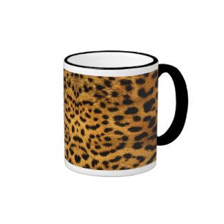 Peau de léopard tasses