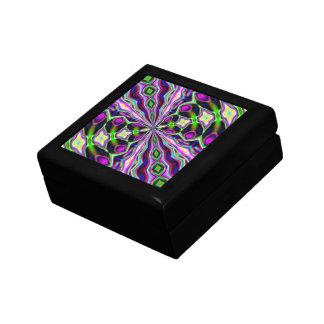 Peau de serpent étrangère petite boîte à bijoux carrée