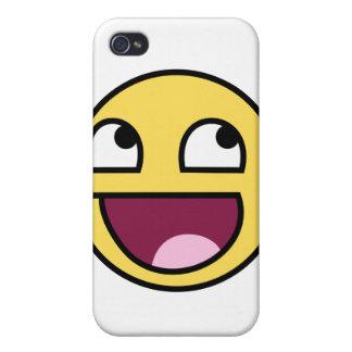 Peau épique d Iphone de visage Étui iPhone 4