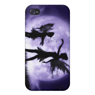 Peau féerique de couverture de cas d Iphone 4 de s Étuis iPhone 4