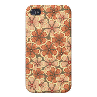 Peau florale Iphone Coques iPhone 4/4S