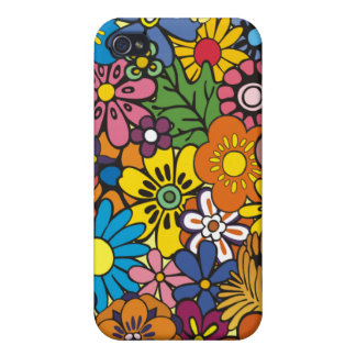 Peau florale Iphone Coque iPhone 4