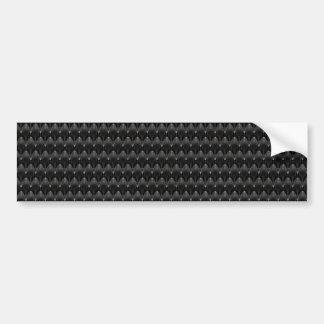 Peau noire d'alien de fibre de carbone adhésif pour voiture