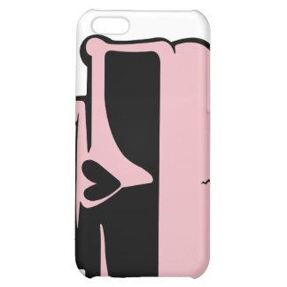 Peau rose de crâne d'iPhone Coques iPhone 5C