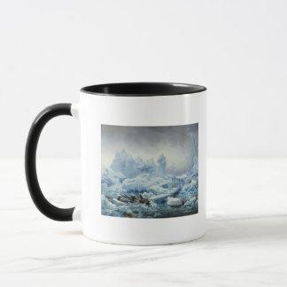 Pêchant pour le morse dans l'océan arctique, 1841 mug