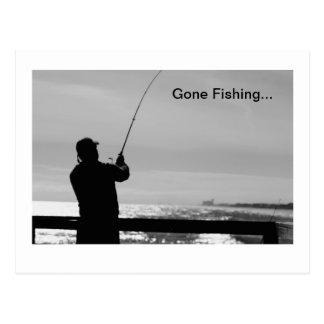 Pêche allée cartes postales