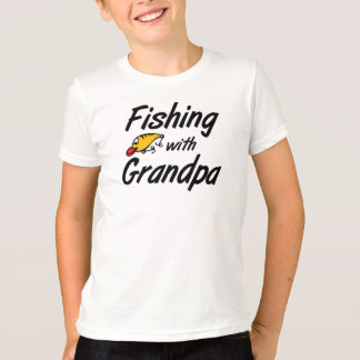 Pêche avec le T-shirts de grand-papa
