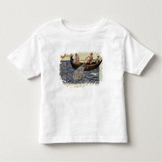 Pêche avec un filet t-shirt pour les tous petits