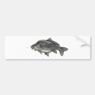 Pêche de carpe adhésif pour voiture