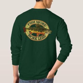 Pêche de mouche humoristique t-shirt