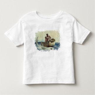 Pêche de requin, 1885 t-shirt pour les tous petits