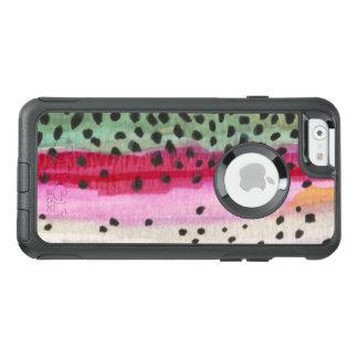 Pêche de truite arc-en-ciel, ichtyologie coque OtterBox iPhone 6/6s