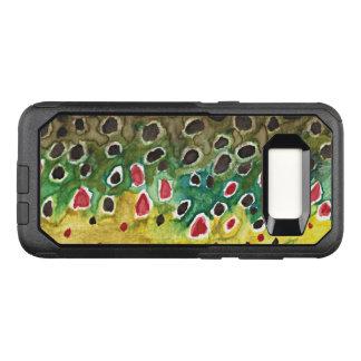 Pêche de truite de Brown, ichtyologie Coque Samsung Galaxy S8 Par OtterBox Commuter