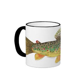 Pêche de truite de Brown Mug Ringer