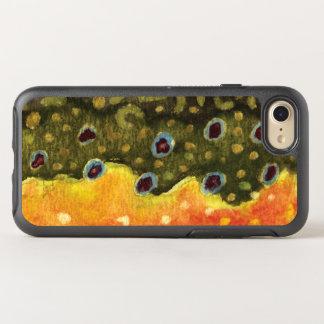 Pêche de truite de ruisseau, ichtyologie coque otterbox symmetry pour iPhone 7