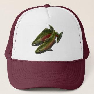 Pêche des casquettes et des casquettes de poissons